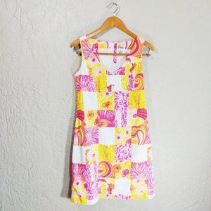 """Lilly Pulitzer """"Kings Court Patch"""" Shift Dress"""